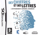 Chiffres et des Lettres, Des - L'Entrainement Cerebral Maximum! DS coverS (CDMF)