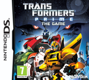 Transformers Prime - The Game DS coverS (TPTP)