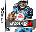 Madden NFL 08 DS coverS (A5UE)