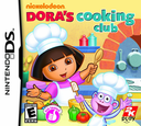 Dora's Cooking Club DS coverS (B5CE)