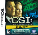 CSI - Crime Scene Investigation - Deadly Intent - The Hidden Cases DS coverS (BCIE)
