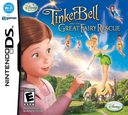 Tinker Bell and the Great Fairy Rescue DS coverS (BTUE)