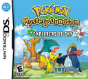 Pokémon Mystery Dungeon - Explorers of Sky DS coverS (C2SE)