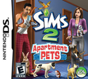 The Sims 2 - Apartment Pets DS coverS (CAPE)