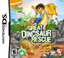 Go, Diego, Go! - Great Dinosaur Rescue DS coverS (CGDE)
