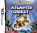 Crazy Chicken Jump'n Run - Atlantis Quest DS coverS (CMVE)