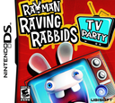 Rayman - Raving Rabbids - TV Party DS coverS (CRIE)