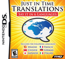 Just in Time Translations - Say It in 6 Languages DS coverS (CWTE)
