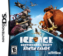 Ice Age 4 - Continental Drift - Arctic Games DS coverS (TCGE)