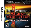 James Patterson Women's Murder Club - Games of Passion DS coverS (VMCE)
