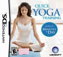 Quick Yoga Training - Learn in Minutes a Day DS coverS (YGCE)