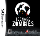 Teenage Zombies - Invasion of the Alien Brain Thingys DS coverS (YTZE)