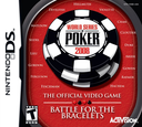World Series of Poker 2008 - The Official Video Game - Battle for the Bracelets DS coverS (YWBE)