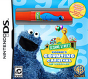 Sesame Street - Cookie's Counting Carnival - The Videogame DS coverSB (BSRE)