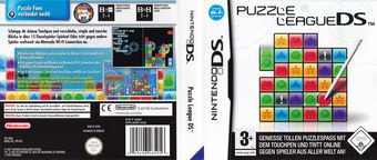 Puzzle League DS DS cover (A8NP)