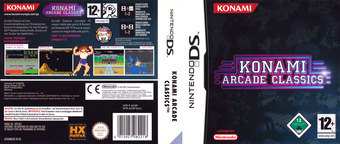 Konami Arcade Classics DS cover (ACXP)