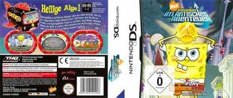 SpongeBob's Atlantisches Abenteuer DS cover (AL3X)