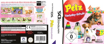 Petz - Tierbaby-Schule DS cover (B3UP)