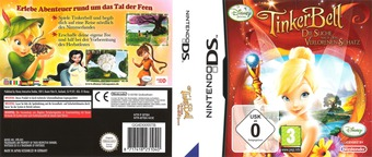 Tinker Bell and the Lost Treasure DS cover (BTBX)