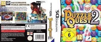 Puzzle Quest 2 DS cover (BZXP)