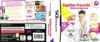 Sophies Freunde - Wohnträume DS cover (CIDP)