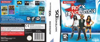 Rock Revolution DS cover (CRKP)