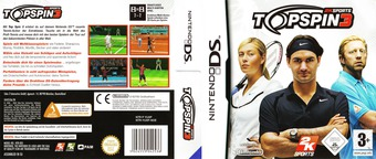 Top Spin 3 DS cover (YUXP)
