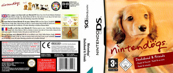 Nintendogs - Dachshund & Friends DS cover (ADGP)