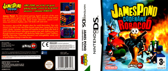 James Pond - Codename Robocod DS cover (AJPP)