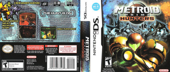 Metroid Prime - Hunters DS cover (AMHE)