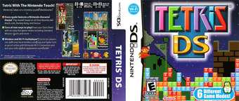 Tetris DS DS cover (ATRE)