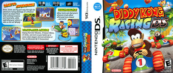 Diddy Kong Racing DS DS cover (AWDE)