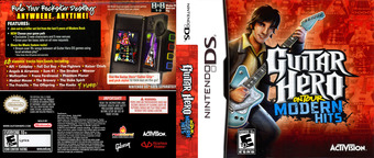 Guitar Hero - On Tour - Modern Hits DS cover (C6QE)
