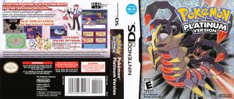 Pokémon - Platinum Version DS cover (CPUE)