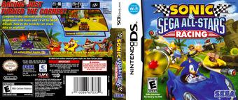 Sonic & Sega All-Stars Racing DS cover (CS3E)