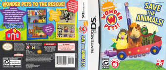Wonder Pets! - Save the Animals! DS cover (CWAE)
