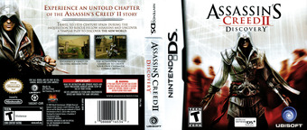 Assassin's Creed II - Discovery DS cover (VACE)