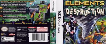 Elements of Destruction DS cover (YEDE)