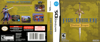 Fire Emblem - Shadow Dragon DS cover (YFEE)