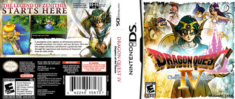 Dragon Quest IV - Chapters of the Chosen DS cover (YIVE)