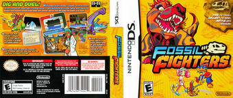 Fossil Fighters DS cover (YKHE)