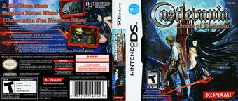 Castlevania - Order of Ecclesia DS cover (YR9E)
