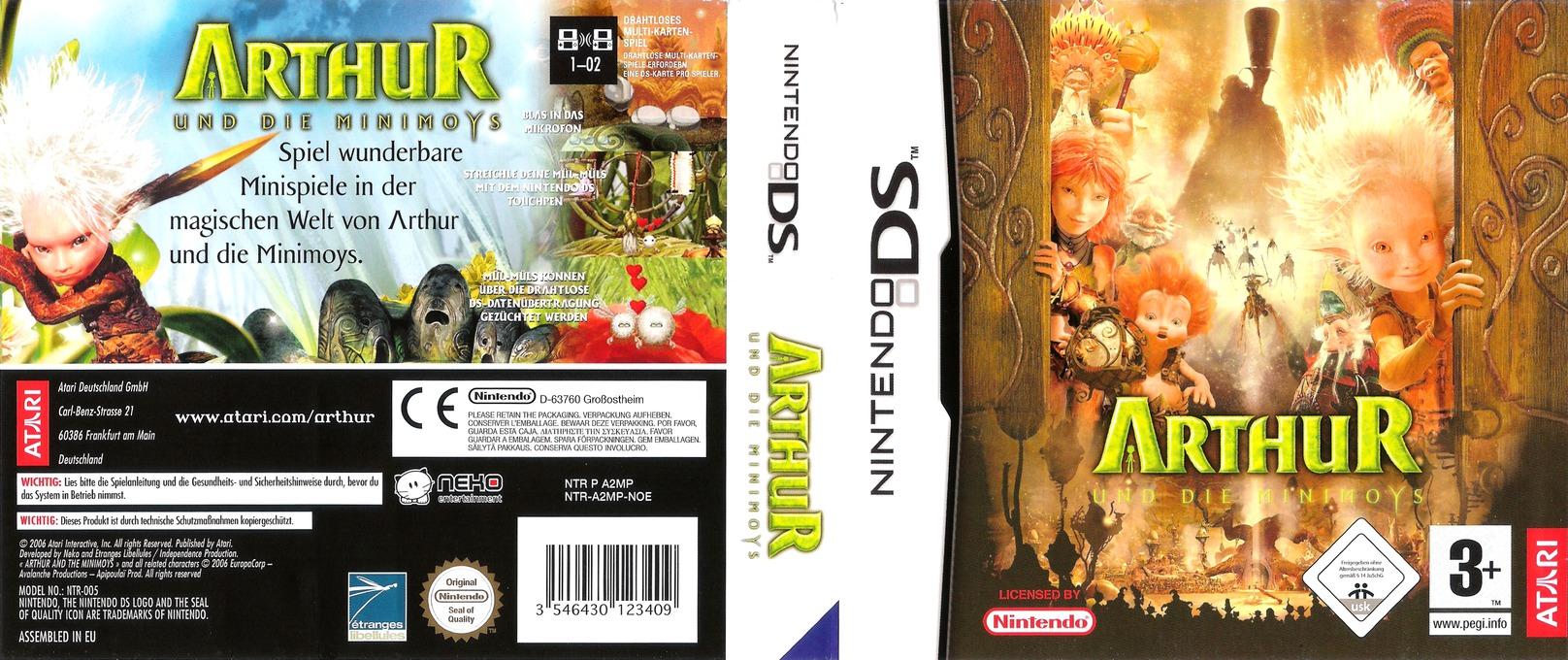Arthur und die Minimoys DS coverfullHQ (A2MP)