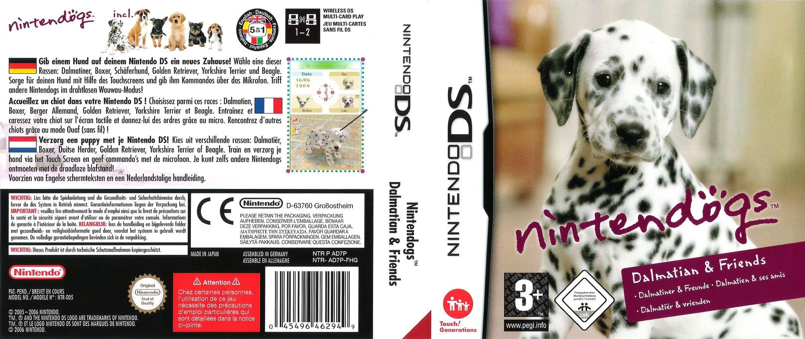 Nintendogs - Dalmatiner & Freunde DS coverfullHQ (AD7P)