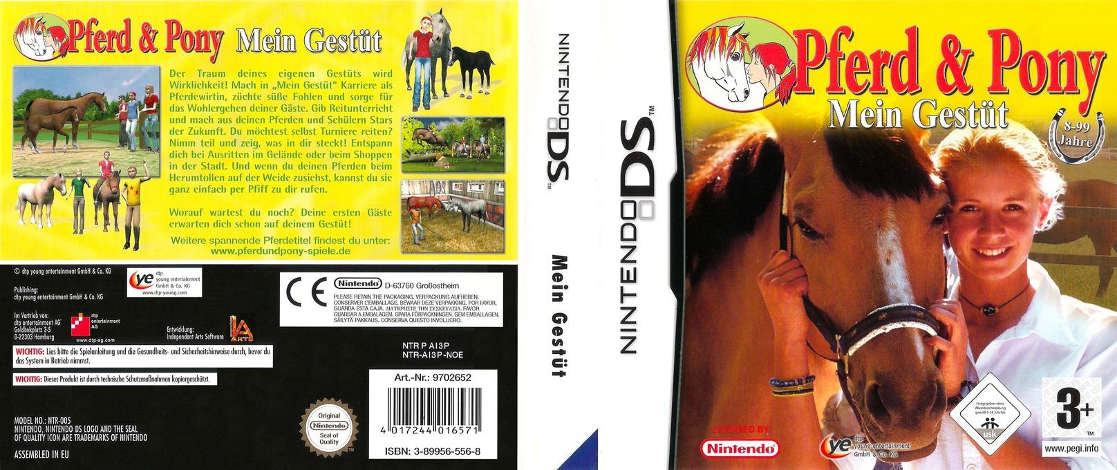 Pferd & Pony - Mein Gestüt DS coverfullHQ (AI3P)
