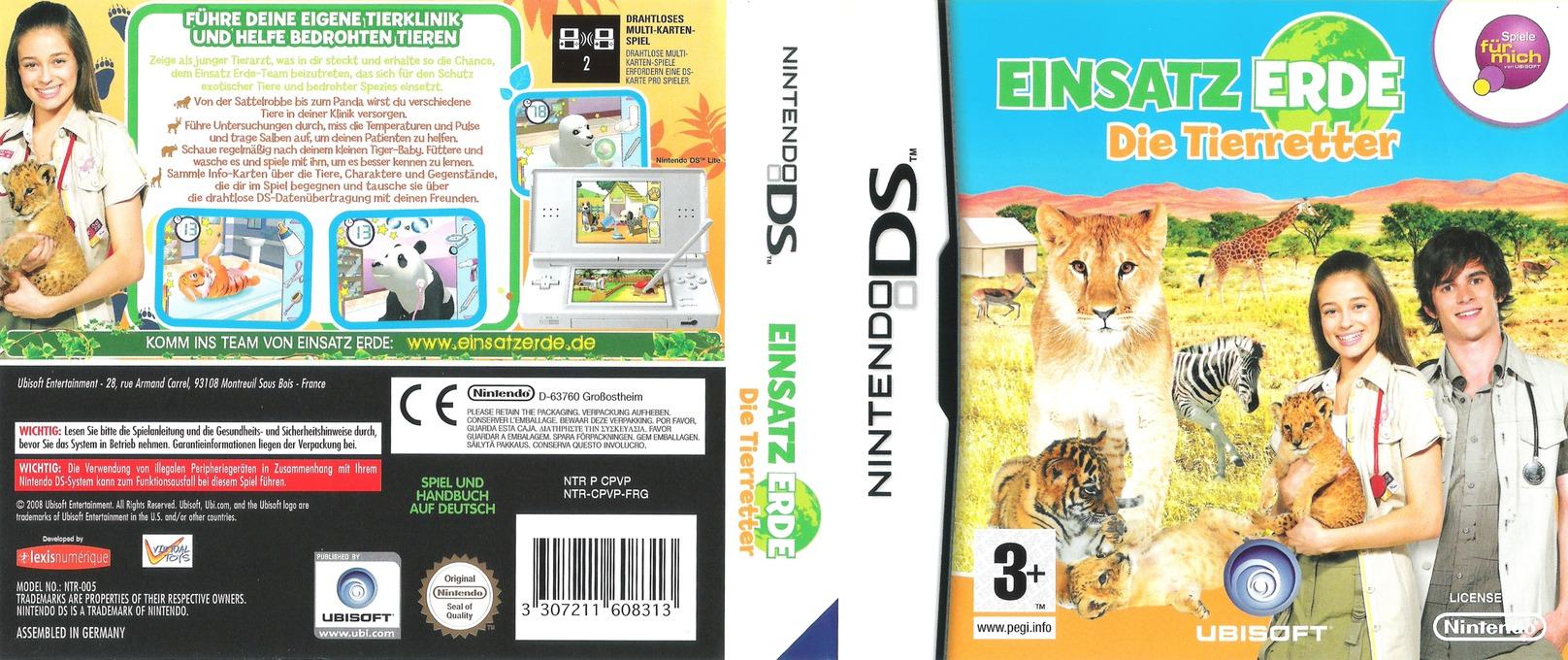Einsatz Erde - Die Tierretter DS coverfullHQ (CPVP)
