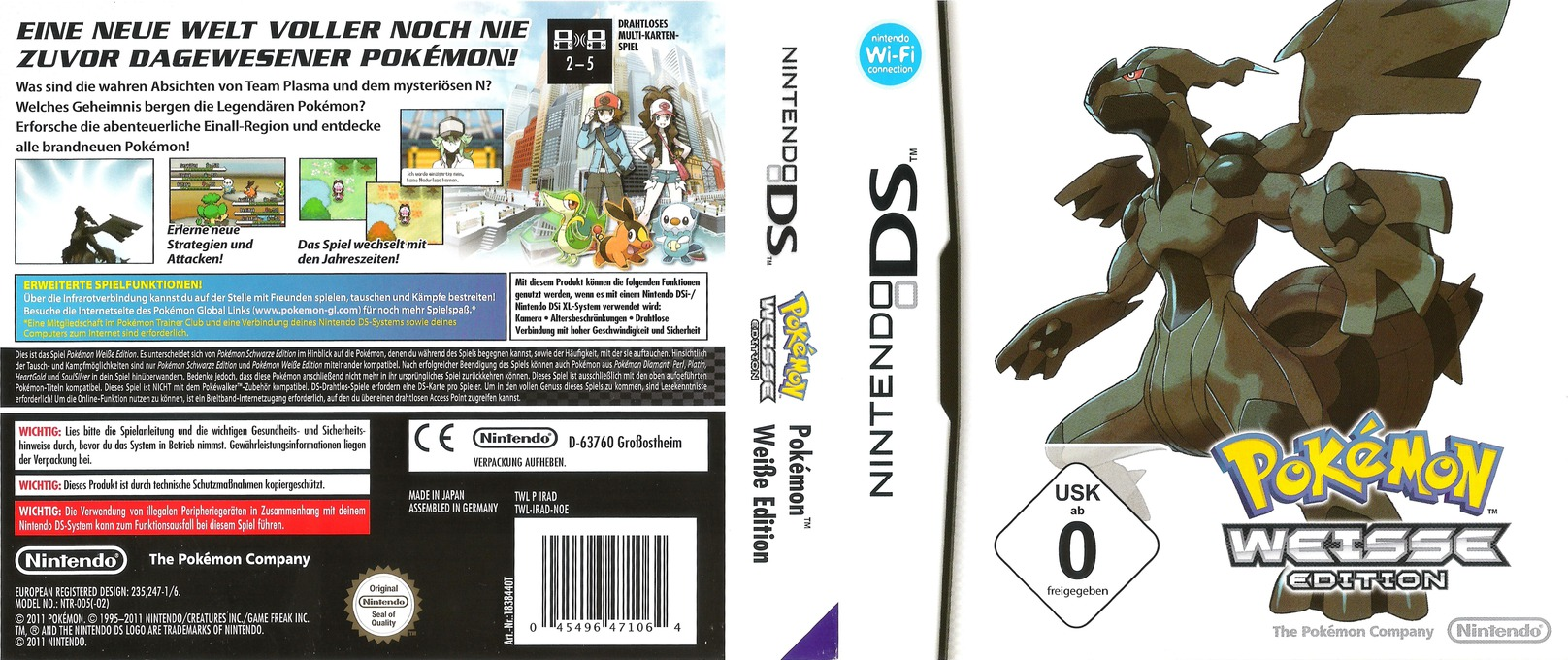 Pokémon - Weisse Edition DS coverfullHQ (IRAD)