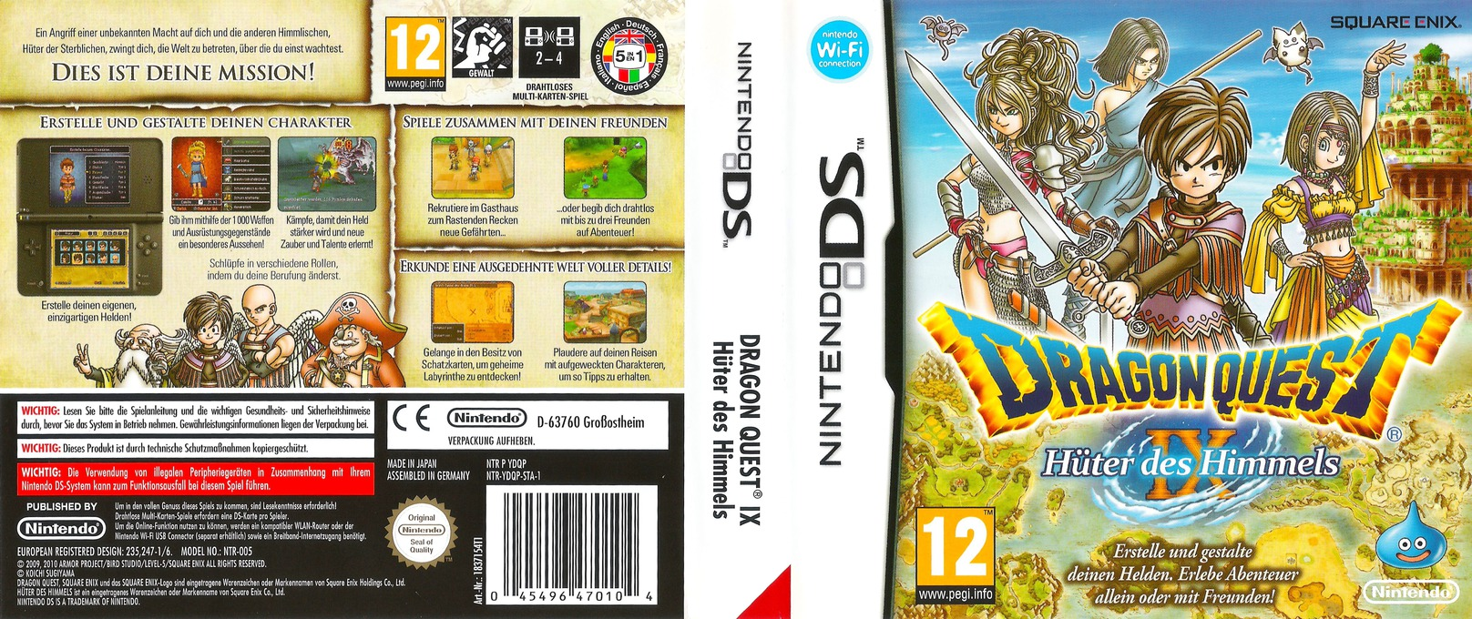 Ydqp Dragon Quest Ix Sentinels Of The Starry Skies