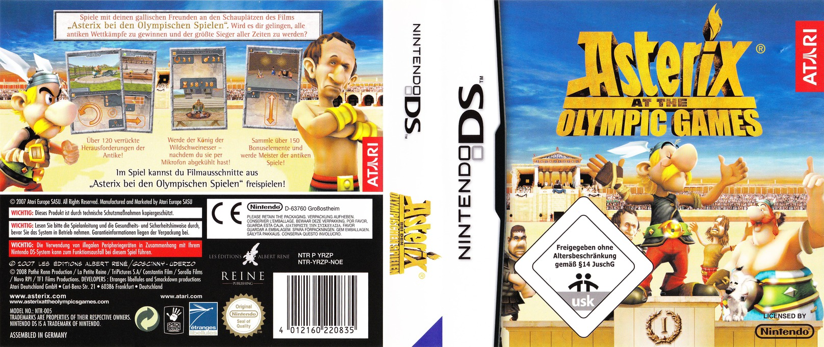 Asterix bei den Olympischen Spielen DS coverfullHQ (YRZP)