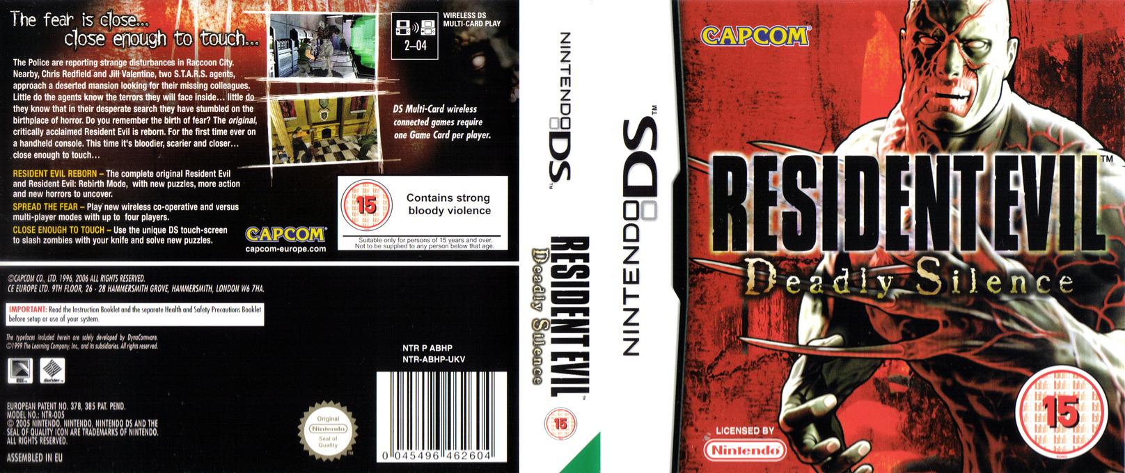 Resident Evil - Deadly Silence DS coverfullHQ (ABHP)